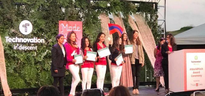 Հայ աղջիկների թիմը Technovation Challenge 2017-ում հաղթել է «հանդիսատեսի համակրանք» անվանակարգում