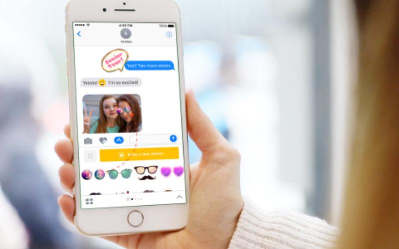 PicsArt-ը գործարկել է iMessage հավելված սթիքերների համար