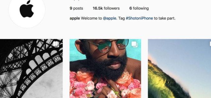 Apple-ն Instagram-ում բացել է պաշտոնական էջ