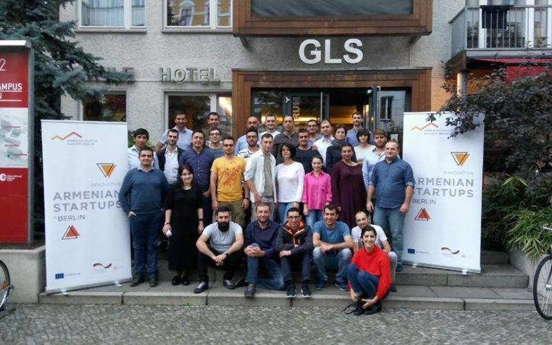 Հայկական 15 սթարթափ Բեռլինում ներկայացրել են իրենց գաղափարները