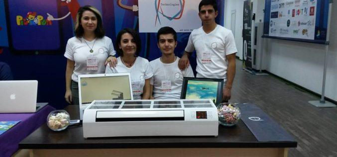 DigiTec expo 2017. Հայ ուսանողները նոր օզոնատոր են ստեղծել
