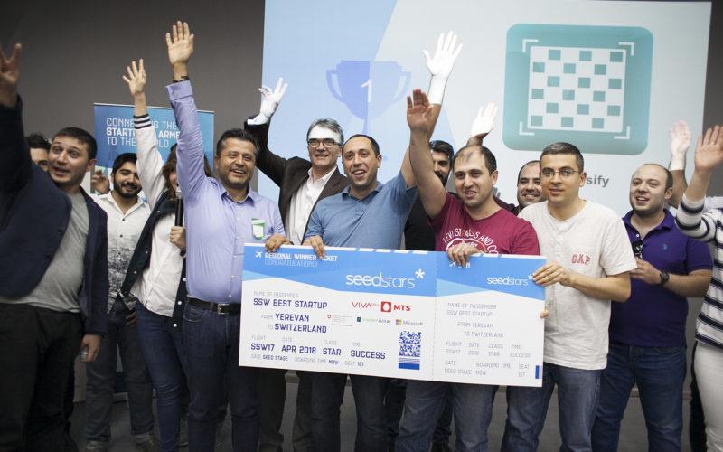 Chessify սթարթափը կներկայացնի Հայաստանը Seedstars World-ում