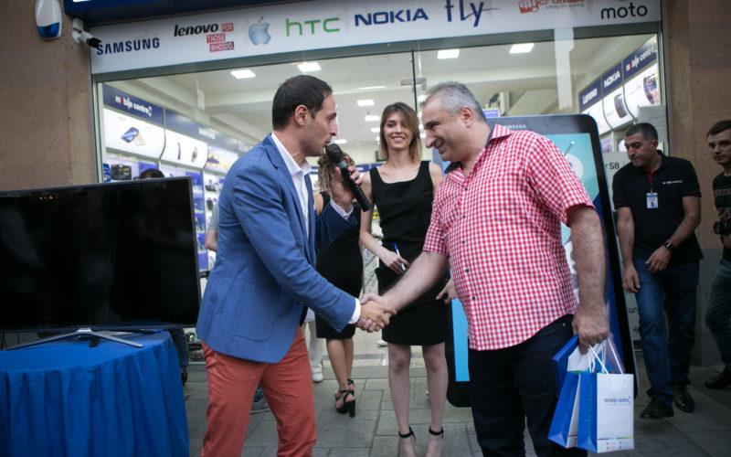 Mobile Centre խանութ-սրահում Samsung Galaxy Note 8 սմարթֆոնի շնորհանդեսը