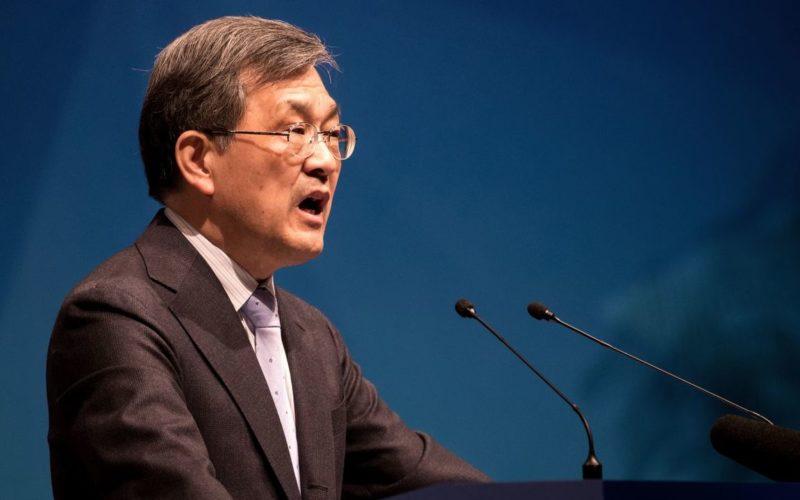Samsung Electronics-ի ղեկավարը հրաժարական է տվել