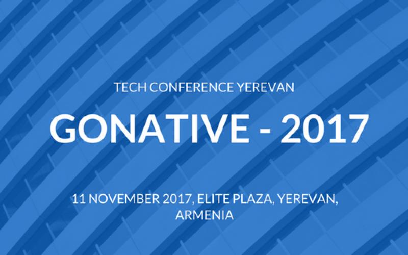 GoNative 2017 տեխնիկական կոնֆերանսը կանցկացվի նոյեմբերի 11-ին