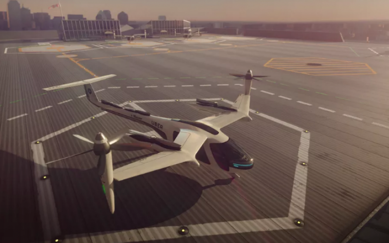NASA-ն Uber-ի հետ կստեղծի թռչող տաքսիներ (տեսանյութ)