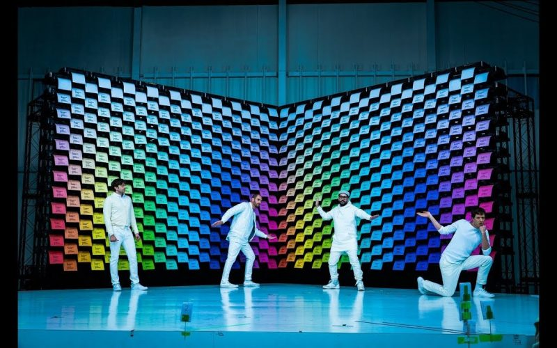 OK Go խումբը թողարկել է նոր հոլովակ, որում 500–ից ավելի տպիչ է օգտագործվել (տեսանյութ)