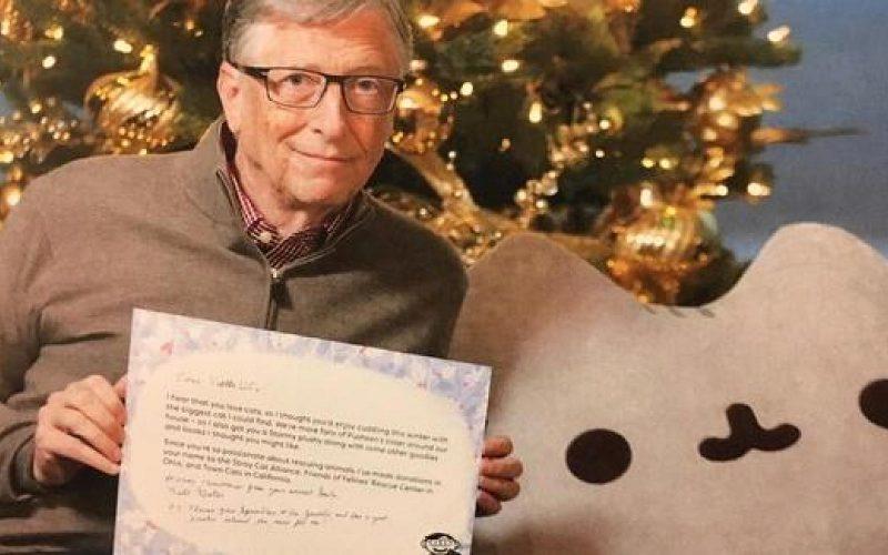Բիլ Գեյթսը դարձել է անծանոթ աղջկա Secret Santa-ն