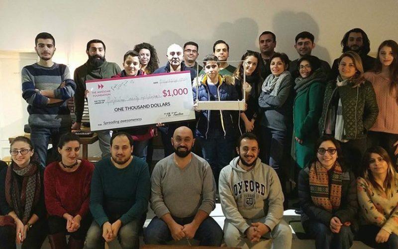 Արմաթցիների «Հեքիաթային դաշնամուր» նախագիծը հաղթել է Awesome Foundation-ի դրամաշնորհային մրցույթում