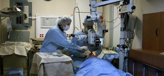 Այս տարի ՀՀ մարզերի շուրջ 8.000 բնակիչ ակնաբուժական անվճար ծառայություն է ստացել «Լույս հայի աչքերին» ծրագրի շնորհիվ