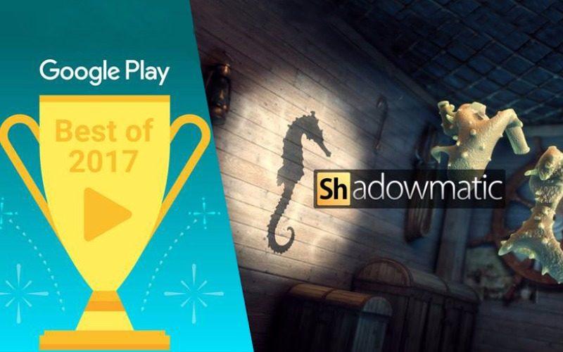 Sahadowmatic-ն ընդգրկվել է Google Play-ի տարվա լավագույն ինովացիոն խաղերի ցանկում