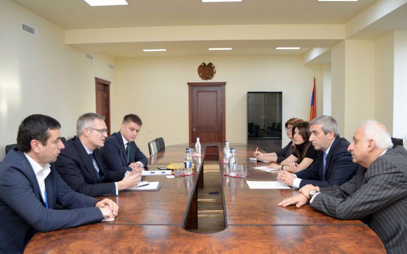 Վահան Մարտիրոսյանը NOKIA-ի ներկայացուցիչներին առաջարկել է R&D լաբորատորիա ստեղծել Հայաստանում