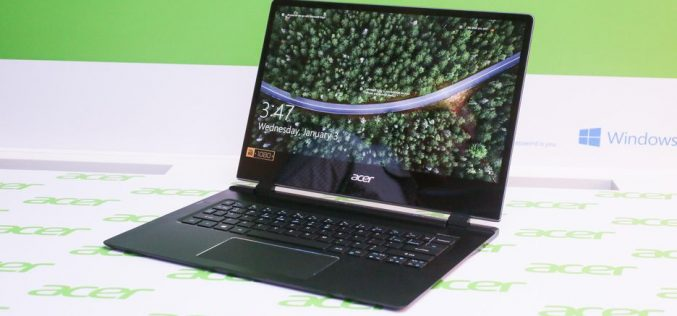 CES 2018. Acer-ը ներկայացրել է աշխարհի ամենաբարակ նոթբուքը (լուսանկարներ)
