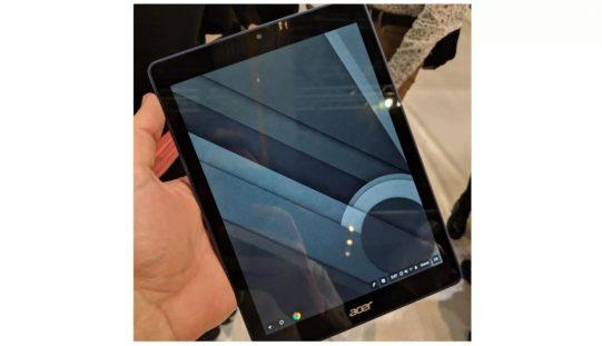 Acer-ն աշխարհում 1–ինն է մշակել Chrome OS–ով աշխատող պլանշետ