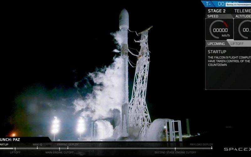 SpaceX-ն արձակել է ինտերնետի տարածման 1–ին արբանյակներով հրթիռը (տեսանյութ)