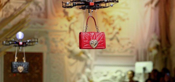 Dolce&Gabbana-ի նորաձևության ցուցադրությանը դրոններ են մասնակցել (տեսանյութ)