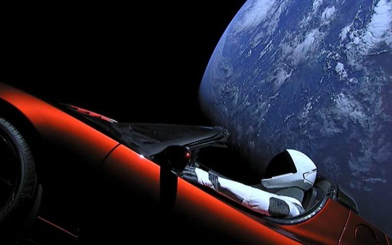 Էլոն Մասկի Tesla Roadster էլեկտրամեքենան NASA-ի բազայում գրանցվել է որպես տիեզերանավ