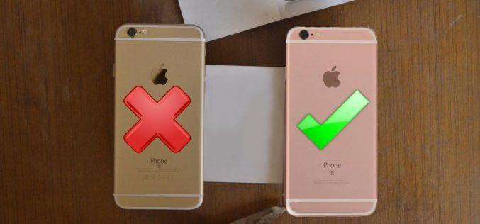 Ինչպե՞ս պարզել օրիգինալ  Iphone է, թե` ոչ