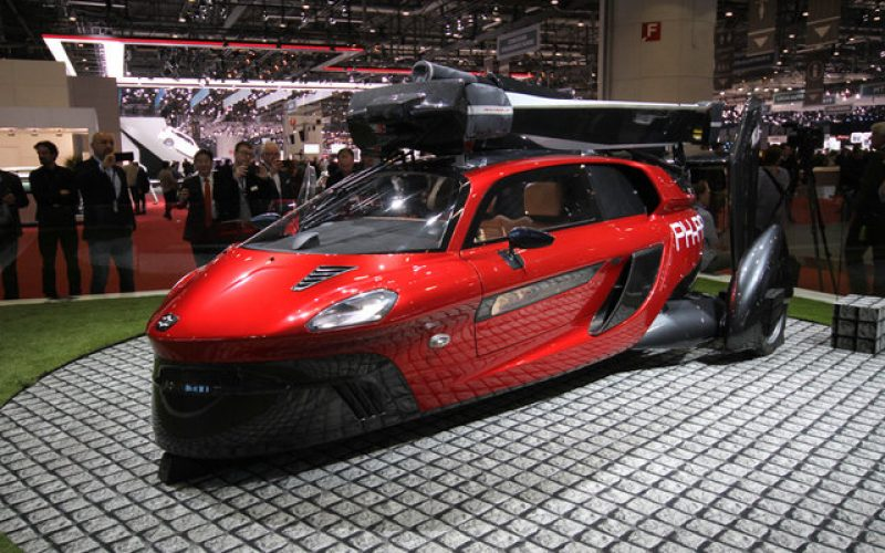 Liberty. ներկայացվել է առաջին թռչող մեքենան