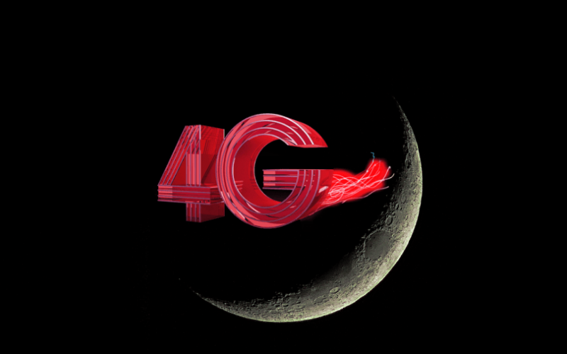 4G ցանց Լուսնի վրա