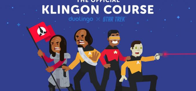 «Աստղային ճանապարհ»–ի սիրահարերը հնարավորություն կունենան  Duolingo-ում սովորել քլինգոնյան լեզուն