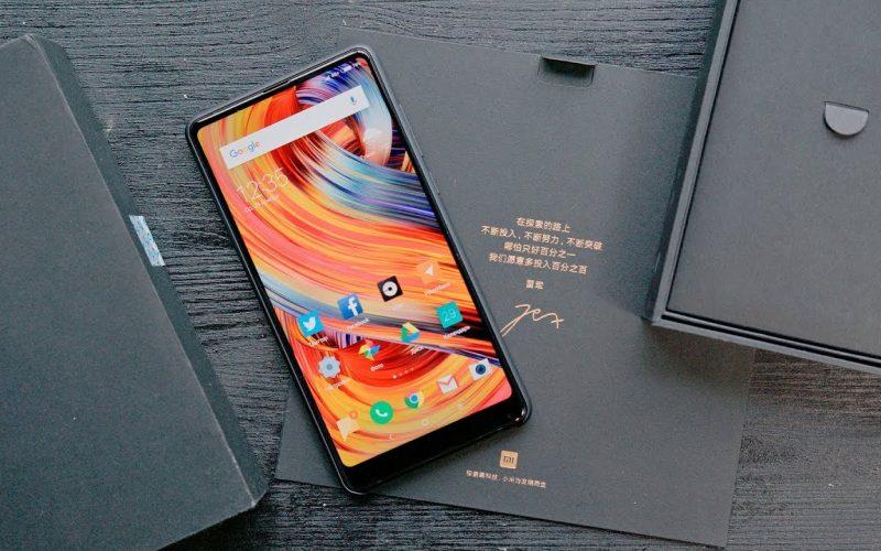Xiaomi Mi Mix 2S սմարթֆոնների լուսանկարները շնորհանդեսից առաջ հայտնվել են համացանցում