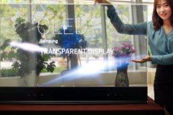 AR և VR տեխնոլոգիաներով  թափանցիկ էկրան Samsung–ից և Apple–ից