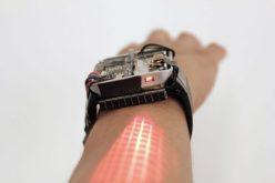 LumiWatch. իրական պրոյեկտոր ձեռքի վրա (տեսանյութ)