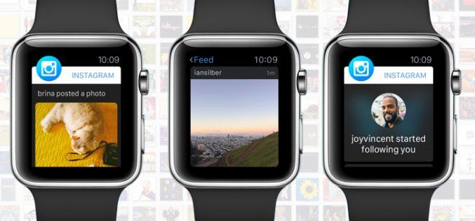 Apple Watch-ում այլևս Intsagram չի լինի