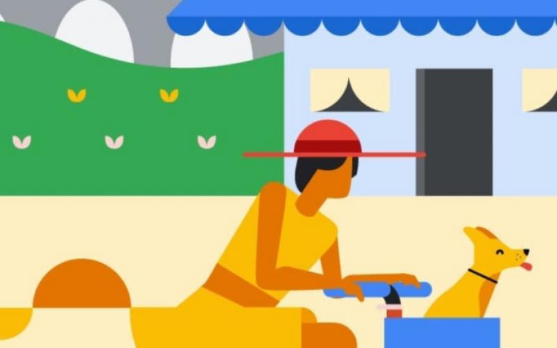 Google-ը կիսվել է գարնանային նոր ետնանկարներով