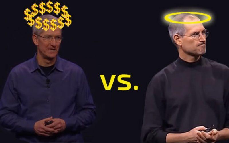 Թիմ Քուկ, թե՞ Սթիվ Ջոբս. ո՞ւմ օրոք է ծաղկել Apple–ը