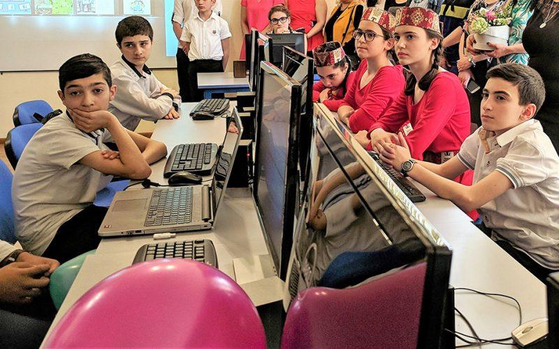 Դավիթաշենի թիվ 200 հիմնական դպրոցում բացվել է «Արմաթ» ինժեներական լաբորատորիա