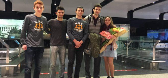 «Այբ»–ի սաները The National Robotics Challenge–ից վերադարձել են մրցանակներով