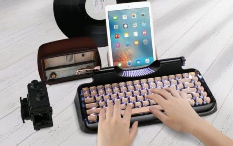 Ինչպե՞ս վերածել iPad–ը վինտաժային գրամեքենայի
