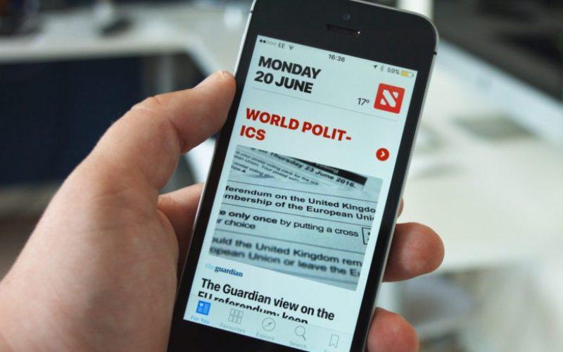 Apple News–ում New York Times–ին, Wall Street Journal–ին և Washington Post–ին բաժանորդագրվելու հնարավորություն կավելանա