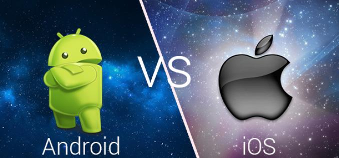 iOS օգտատերերի ծախսերը 10 անգամ գերազանցում են Android-ին