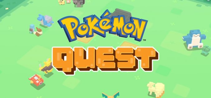 Pokemon Company խաղային ստուդիան կթողարկի Pokemon Quest խաղը