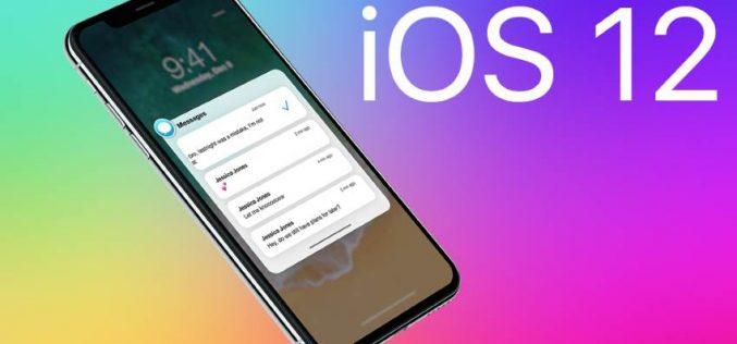 Թողարկվել է iOS 12-ի  պաշտոնական բետա տարբերակը