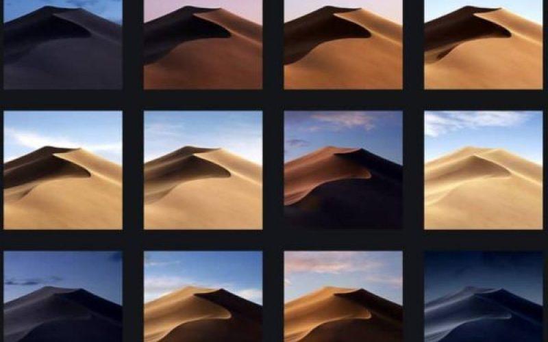 macOS Mojave-ի պաշտոնական պաստառները հասանելի են ներբեռնման համար