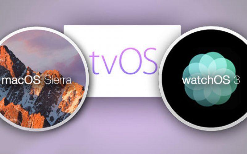 Apple-ը ներկայացրել է  Apple Watch-ի և Mac-ի համար նախատեսված ծրագրային ապահովում