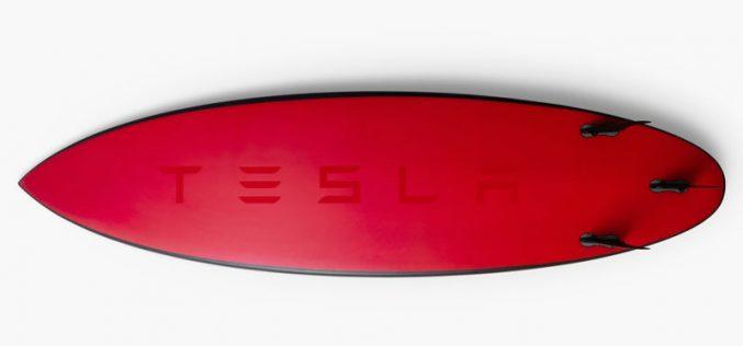 Tesla–ն թողարկել է սերֆինգի համար նախատեսված տախտակներ