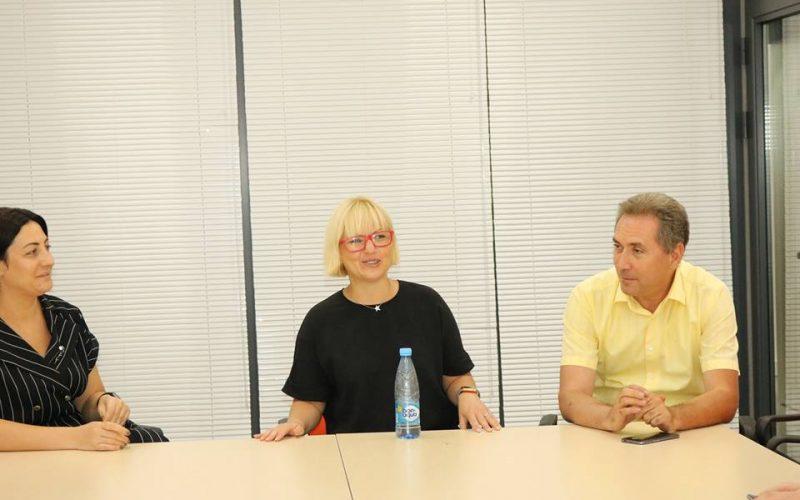 Jobbatical ընկերության հիմնադիր Կարոլի Հինդրիկսին Վանաձորի տեխնոլոգիական կենտրոնում էր