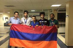 Մաթեմատիկական միջազգային ուսանողական օլիմպիադային ԵՊՀ թիմը նվաճել է 4 մեդալ