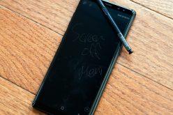 Galaxy Note 9–ը ունի գործարանային խոտան