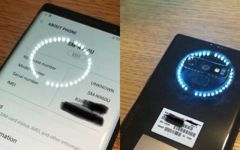Հրապարակվել են Galaxy Note 9-ի իրական լուսանկարները