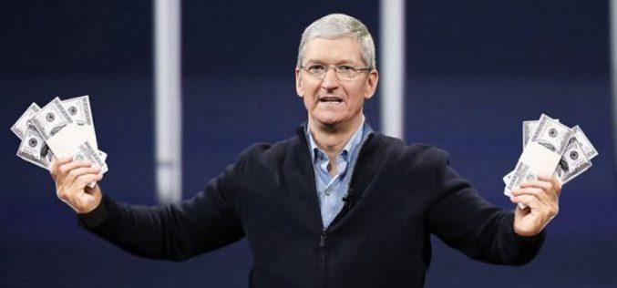 Թիմ Քուկը 57,8 մլն դոլար արժողությամբ Apple–ի  բաժնետոմս է վաճառել
