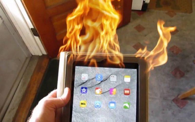 App Store–ում iPad–ի պայթյունի հետևանքով տարհանել են խանութի աշխատակազմին