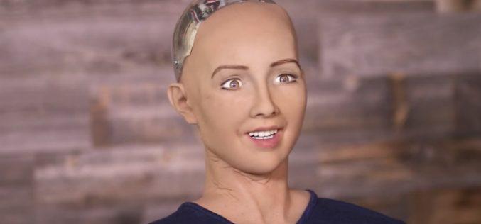 Սոֆիա ռոբոտը ժամանում է Հայաստան