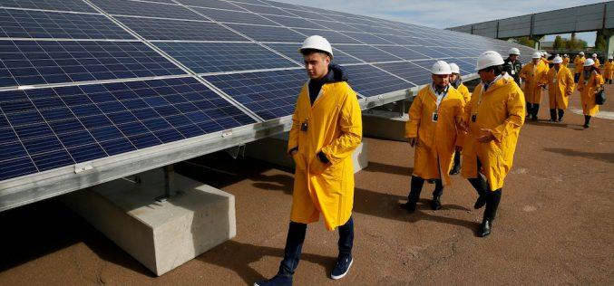 Չեռնոբիլում գործարկվել է արևային էներգիայով աշխատող առաջին գործարանը