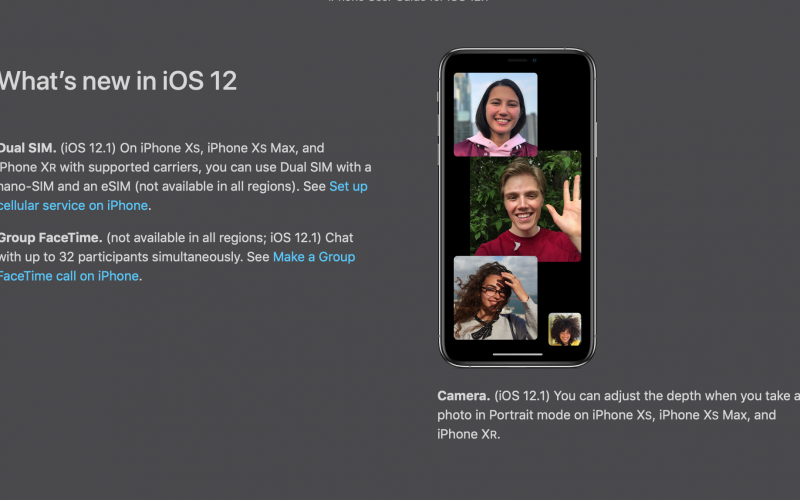 FaceTime-ի խմբակային չաթը անասանելի կլինի iPhone-ի և  iPad-ի հին մոդելների համար